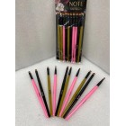 PINCEL ANGULAR NOTE 10PCS M1389