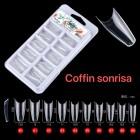 UÑAS  POSTIZAS  AMIGA  COFFIN  SONRISA   M1988