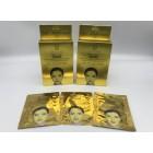 MASCARILLA  FACIAL  GOLD Y PEARL  X10PCS M1708